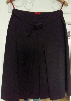 Hugo Plaid Skirt black