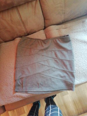 Gina Stretch Skirt dark grey