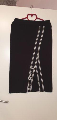 H&M Gebreide rok zwart-taupe