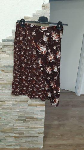 Taifun Asymetryczna spódniczka jasnobrązowy