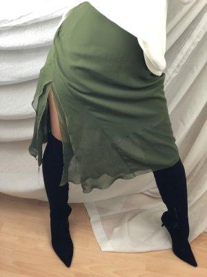 Marc Cain Plaid Skirt multicolored