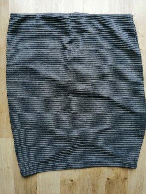 Pimkie Spódnica ze stretchu ciemnoszary