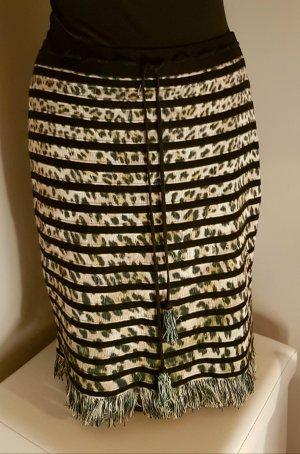 Marc Cain Jupe tricotée multicolore
