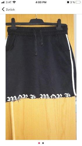 FB Sister Skaterska spódnica biały-czarny