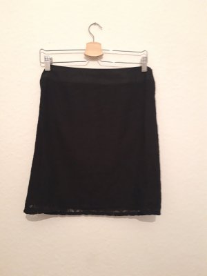 Street One Lace Skirt black