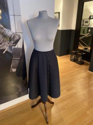 H&M Spódnica z koła szary Wiskoza