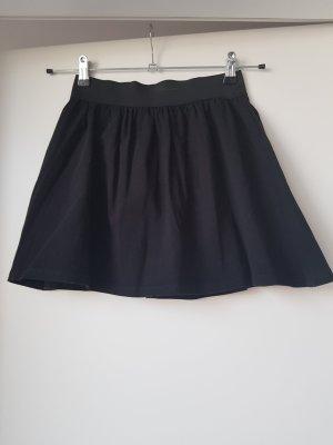 Fishbone Mini rok zwart