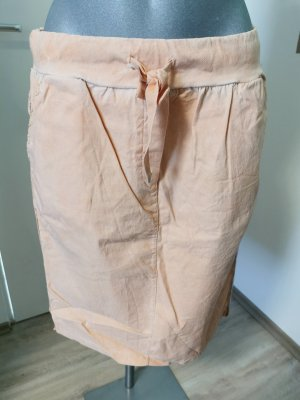 Cargo Skirt light orange