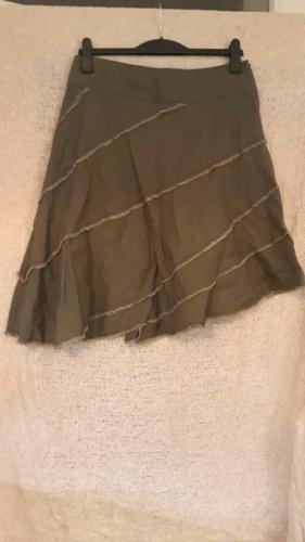 Broomstick Skirt green grey