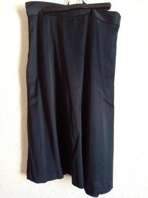 Armani Silk Skirt dark blue