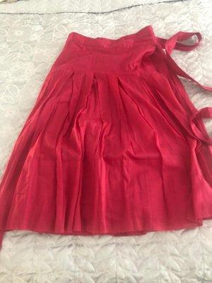 Burberry Spódnica midi czerwony