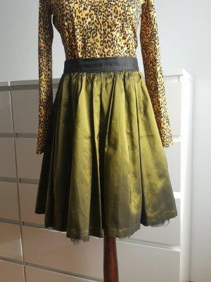 Radar Flared Skirt dark green-forest green