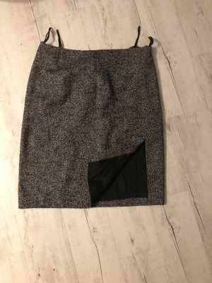 Aust Wool Skirt grey-black