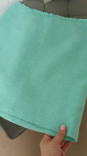 Hallhuber Tweed Skirt sage green polyester