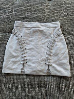 Forever 21 Miniskirt light grey