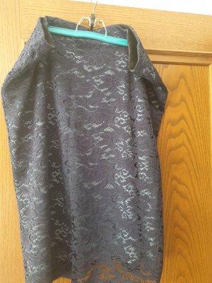 M&S Kanten rok donkerblauw