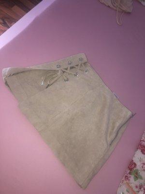 H&M Spódnica z imitacji skóry Wielokolorowy