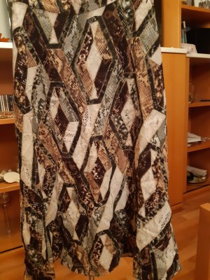 H&M Jupe longue multicolore viscose