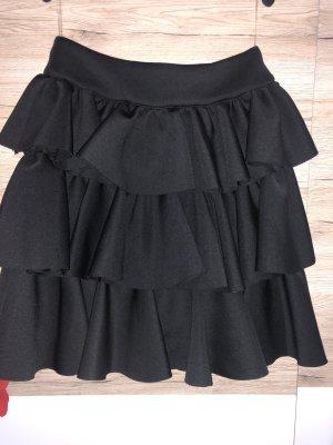 Fashion Nova Falda a cuadros negro