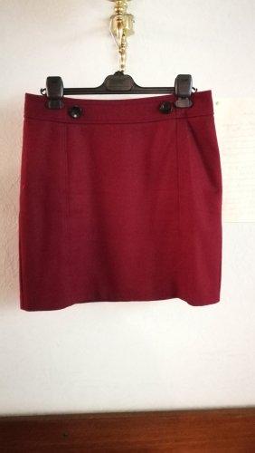 esprit collection Tweed Skirt dark red