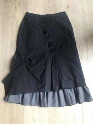 Promod Asymmetrische rok zwart-wit