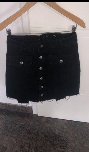 Zara Spijkerrok zwart