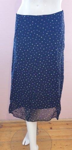 Silk Skirt grey-dusky pink