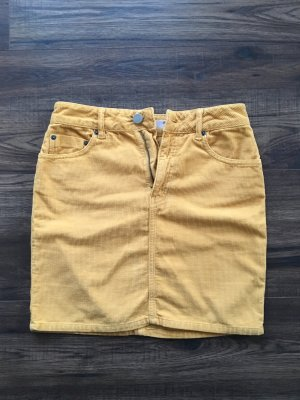 Asos Miniskirt yellow