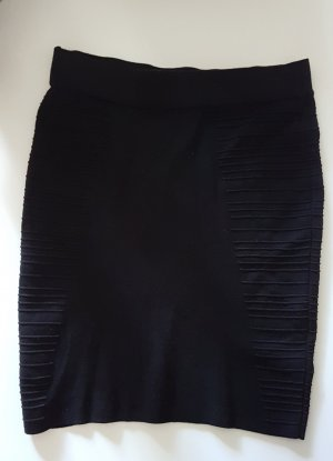 Promod Jupe stretch noir viscose