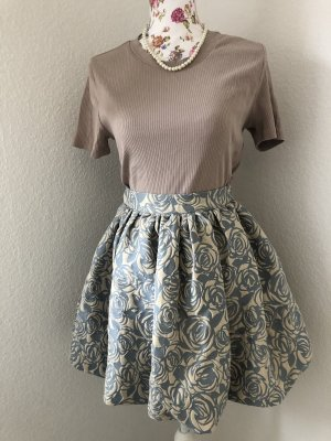 Imperial Flared Skirt multicolored