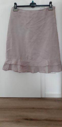 H&M Volanten rok stoffig roze
