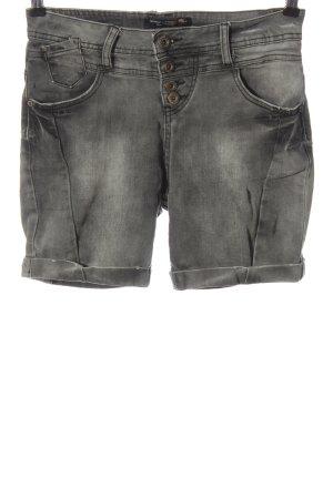 Rock angel Pantaloncino di jeans grigio chiaro stile casual