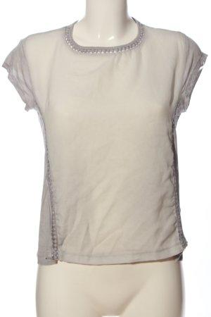 Rock angel Camicetta a maniche corte grigio chiaro stile casual