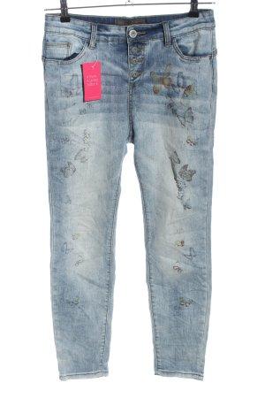 Rock angel Slim Jeans blau Casual-Look