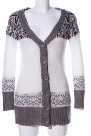 Rock angel Strick Cardigan grafisches Muster Casual-Look