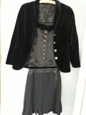 Frak garnitur czarny