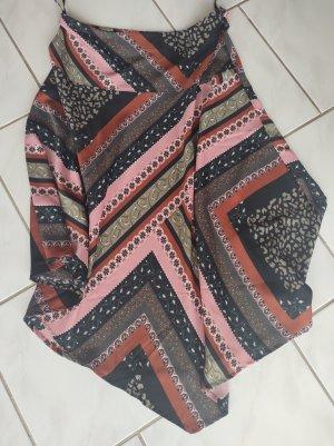 Vero Moda Asymmetry Skirt black-dark green