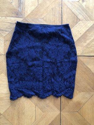 Bikbok Kokerrok blauw-donkerblauw