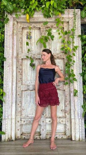 Miniskirt bordeaux