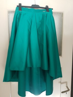 BSB Collection Flared Skirt green synthetic fibre