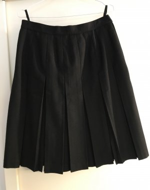 Madeleine Plaid Skirt black