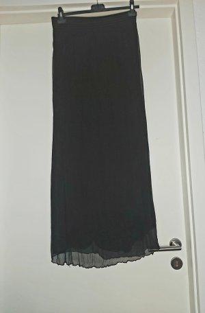 Cartoon Midi Skirt black