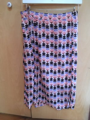 Lanius Silk Skirt multicolored silk