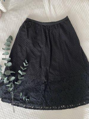 Ichi Falda asimétrica negro
