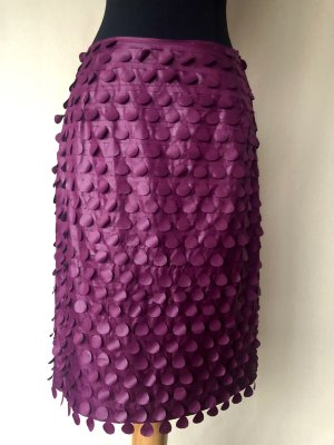 Desei Karin Weinhold Wien Fringed Skirt violet mixture fibre
