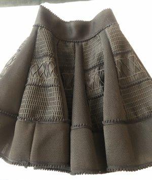 Maje Flared Skirt black
