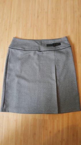 Betty Barclay Plaid Skirt black-light grey