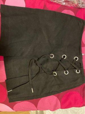H&M Divided Miniskirt black