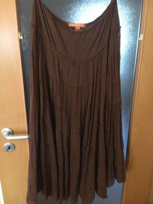 Broomstick Skirt brown