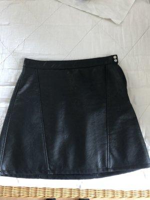 Zara Minifalda negro